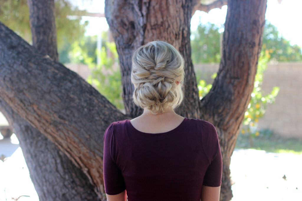 How to make topsy tail bun hairstyle