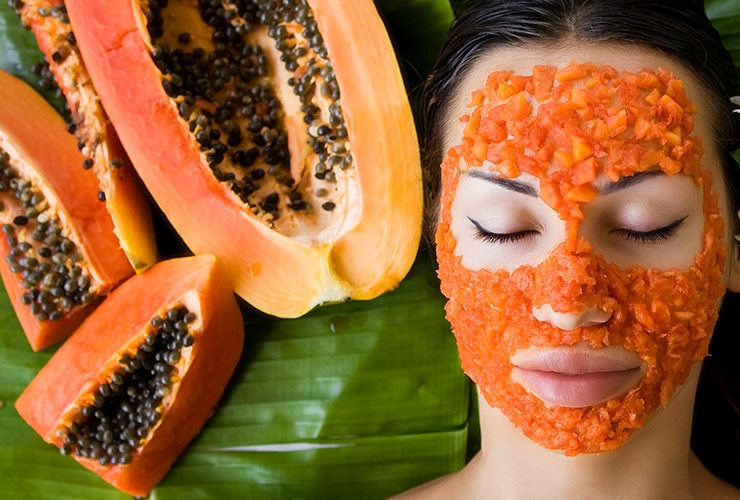 Homemade Papaya Face Mask for Beautiful Skin