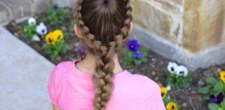 How to make a Dutch starburst hairstyle