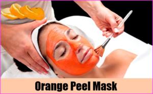 Homemade Orange Peel Face Mask: