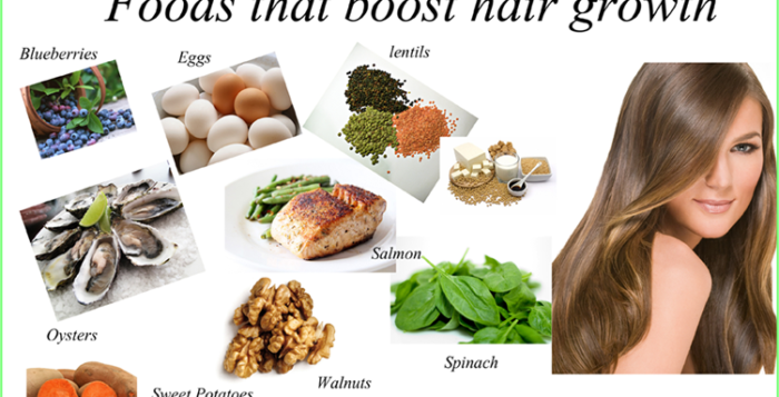 Top 10 Foods for Great Hair
