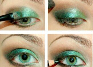 How to do Glamorous Emerald Eye Makeup Tutorial
