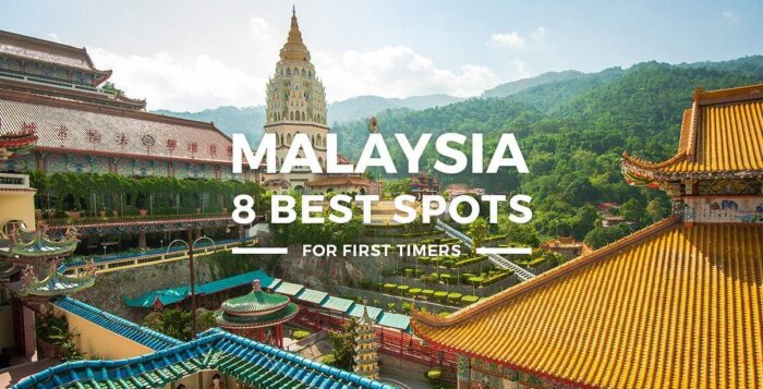 TOP 8 Best Places for VISIT IN MALAYSIA