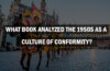 What Book Analyzed The 1950s as A Culture Of Conformity?